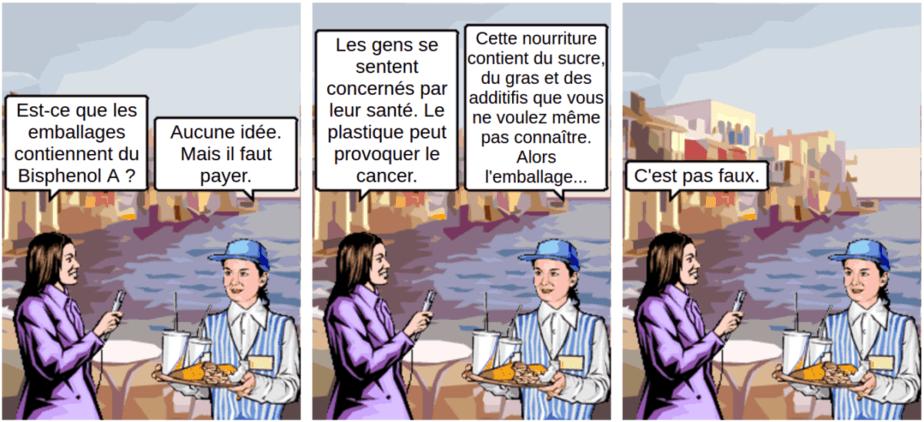 perturbateurs endocriniens - comic
