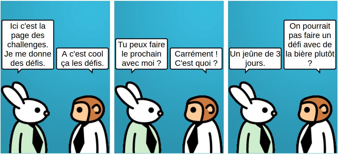 challenges - comic