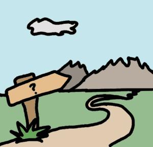 route inconnue - comic