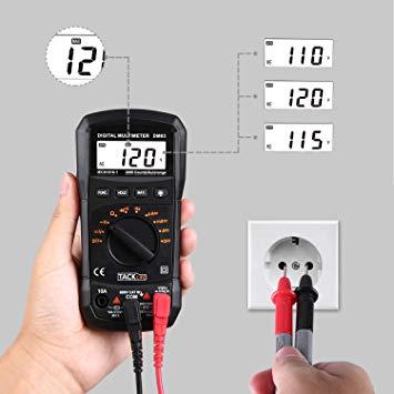 Multimètre Numérique, Tacklife DM03