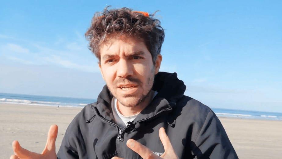 stéphane à la plage