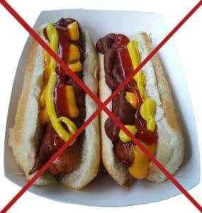 hot dog - nourriture transformée